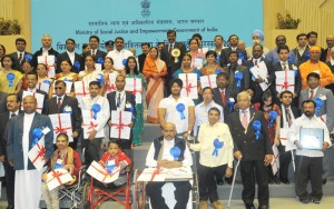 National award for the empowerment of disabilities
