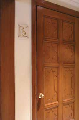 Accessible Exterior and Interior Doors