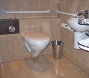 Accessible Public Restroom - Hotel Accessibility Manual