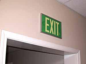 Instructive Signage