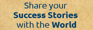 Share your Success Story banner
