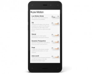 Fire Phone - Mobility Accessibility Option