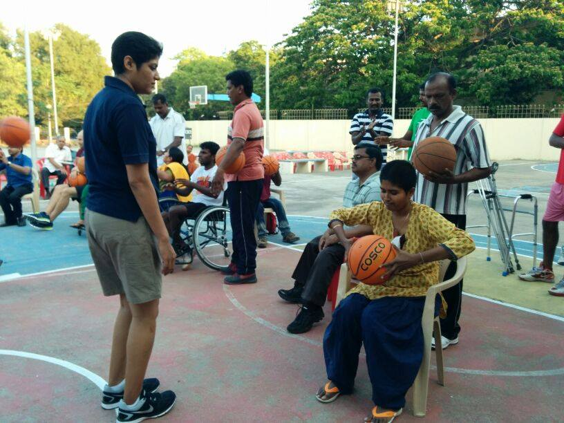 Chennai Eagles – Wheelchair Basketball