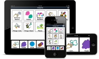 The Grace App for Autism helps autistic and other special needs children to communicate effectively, by building semantic sequences from relevant images to form sentences. The app can be easily customized by using picture and photo vocabulary of your choice.