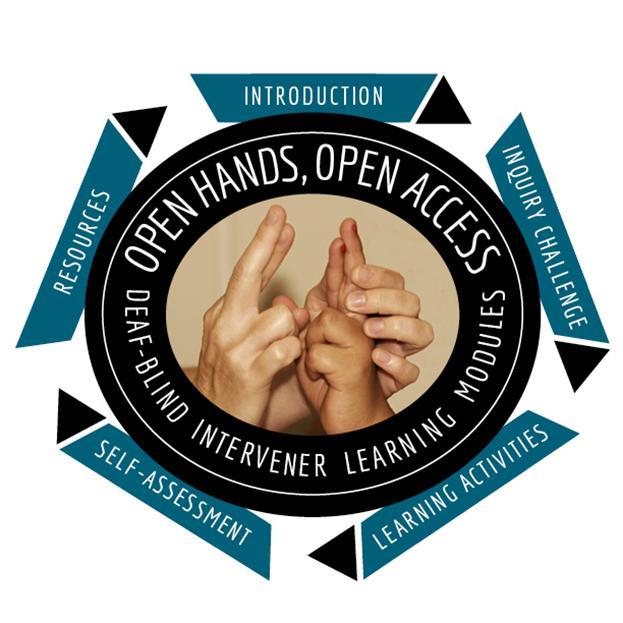 Open Hands, Open Access: Deaf-Blind Intervener Learning Modules
