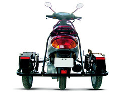 TVS Scooty for DIfferently abled