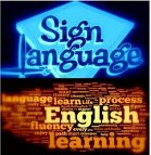 Learning English through Sign Language