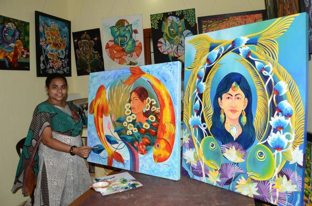 Suvedha, communication is painting