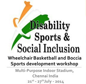 Wheelchair Basketball and Boccia development workshop