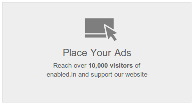 enabled ads