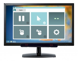 myGaze device includes the eyeMouse Play software