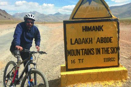 Para-cyclist Aditya Mehta is a man on a mission.