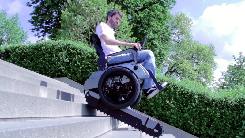 Scalevo – The Stair Climbing Wheelchair