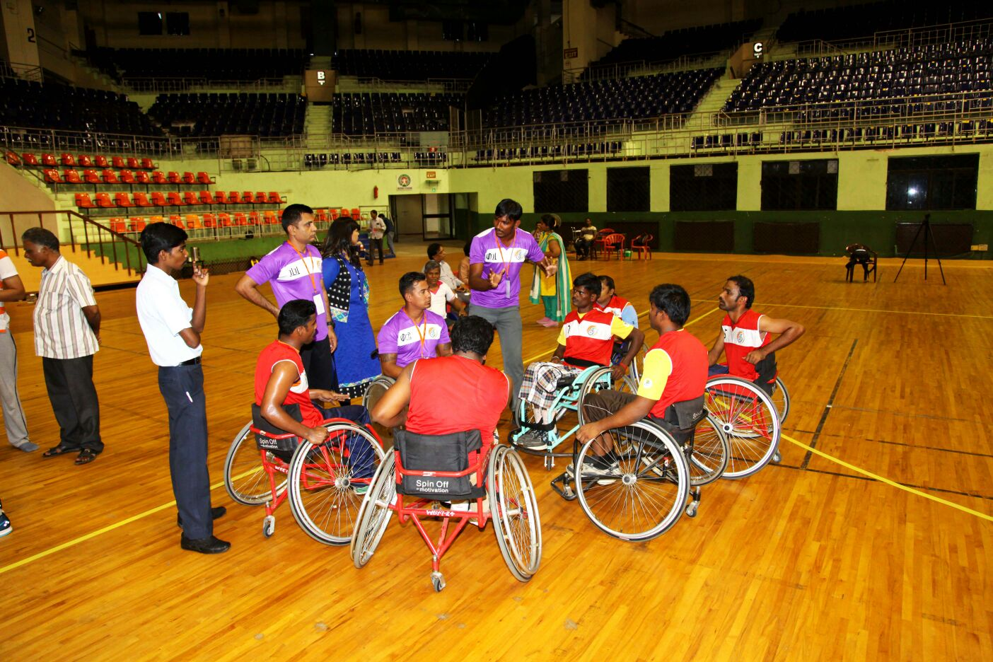 Course on Wheelchair Basketball Classification for National Classifiers