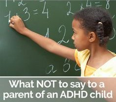 10 Rules for Working with ADHD Child