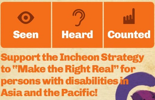 Make the Right Real – Persons with Disabilities in Asia / Pacific