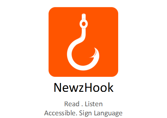 Launch of NewzHook Apps – News that you can Read, Listen & See in Sign Language!