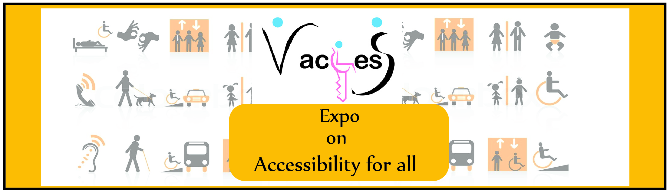 vaccess expo on accessibility for all banner