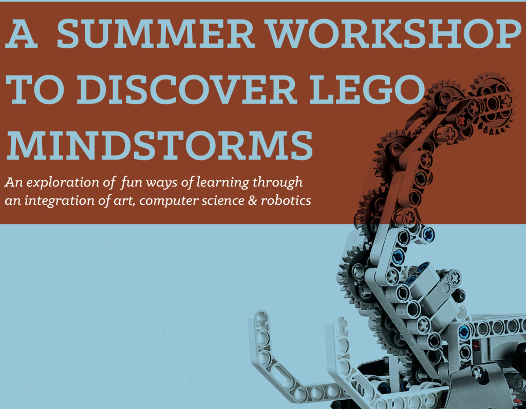 Summer Workshop to Discover LEGO Mindstorms