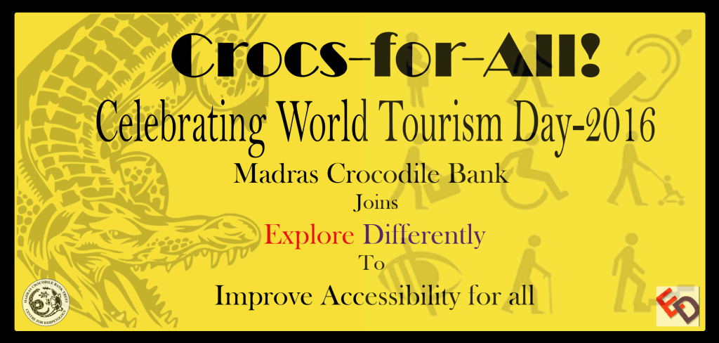 Crocs for All –  Promoting Universal Accessible Tourism