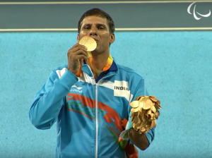 Devendra Jhajharia won the Gold Medal in Rio Paralympics 2016