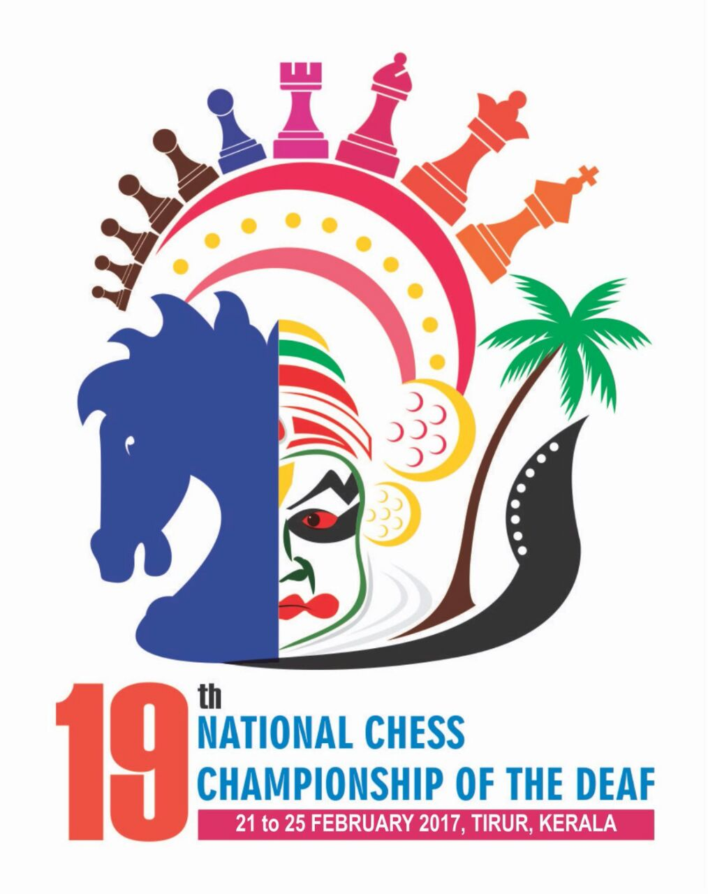 19th National Chess Championship Deaf – Kerala