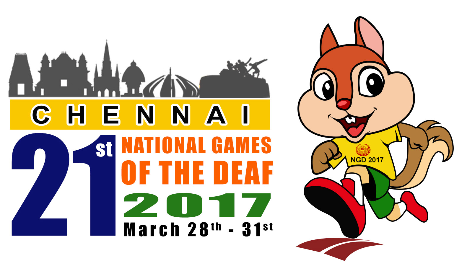 21st National Games of the deaf, Chennai