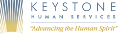 Keystone Human Services works logo