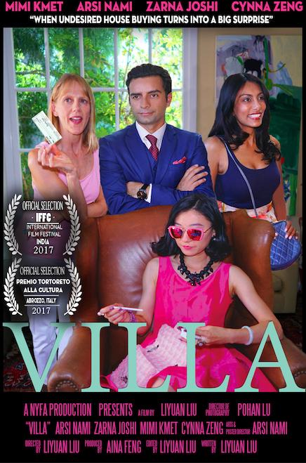 Villa comedy film poster
