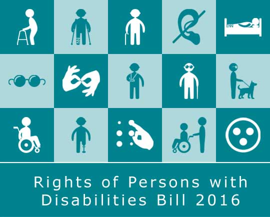 RPwDs Bill 2016 – an Overview