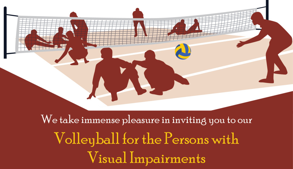 Volleyball for the Persons with Visual Impairments
