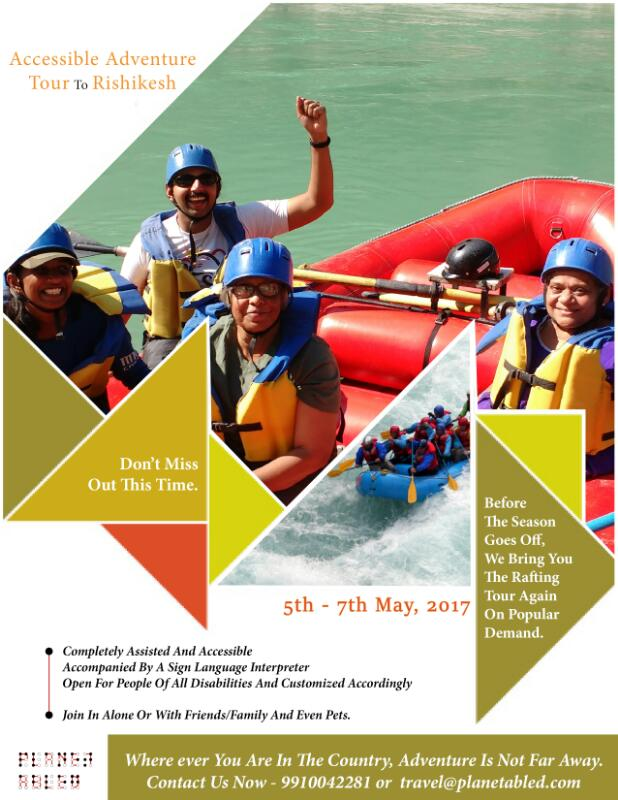 Accessible Adventure Tour to Rishikesh for Persons with Disabilities