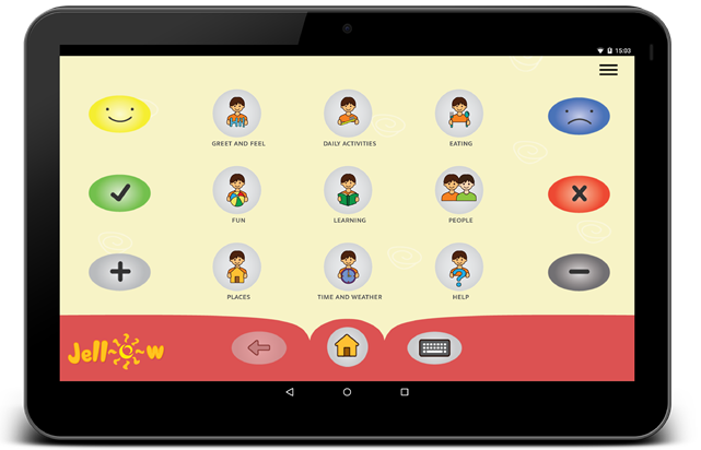 Free and Low Cost Assistive Technology – Android Jellow Communicator