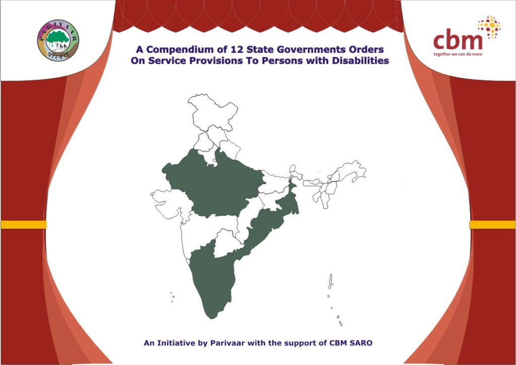 12 State Government's Order on service Provision to Persons with Disabilities