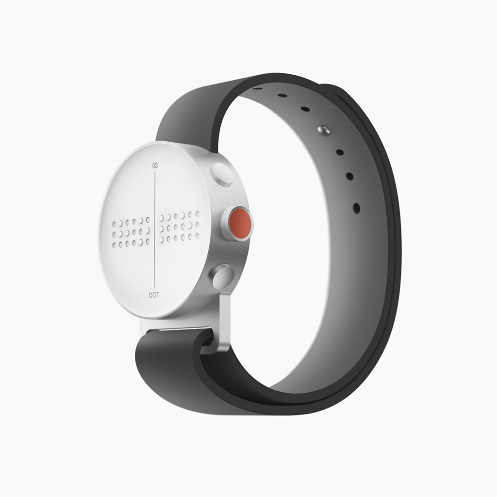 Dot Watch – Braille SmartWatch Reinventing Tactile Communication