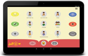 Jellow Communicator APP for Augmentative and Alternative Communication (AAC)