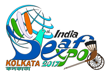 5th India Deaf Expo 2017 in Kolkata logo