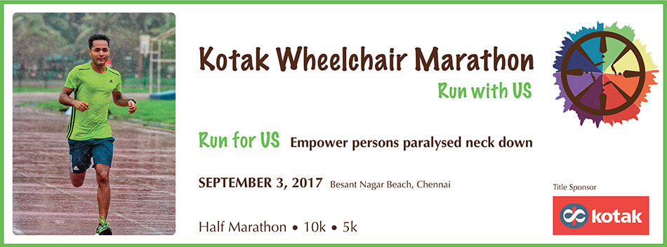 The Kotak Wheelchair Marathon 2017