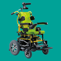 Power Wheelchair KP-12T for Children with Cerebral Palsy / Muscular Dystrophy