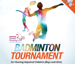 Badminton Tournament for Hearing Impaired Children