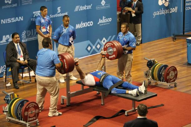 The Kerala state first Paralympic powerlifting championship