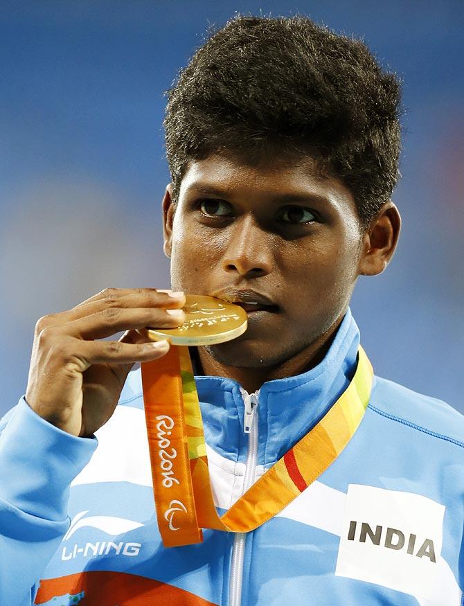 Mariyappan Thangavelu won the Gold Medal in Rio Paralympics 2016