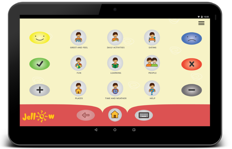 Free and Best AAC Communication Android App – Jellow