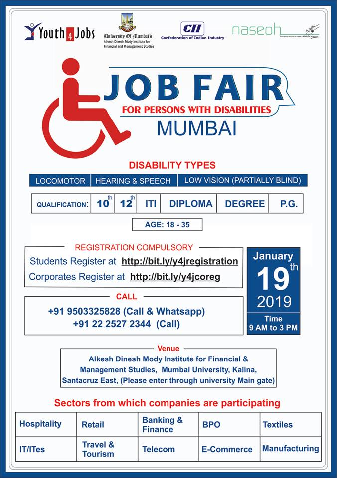 Job Fair for Persons with Disabilities - enabled in