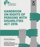Handbook on Rights of Persons With Disabilities Act, 2016