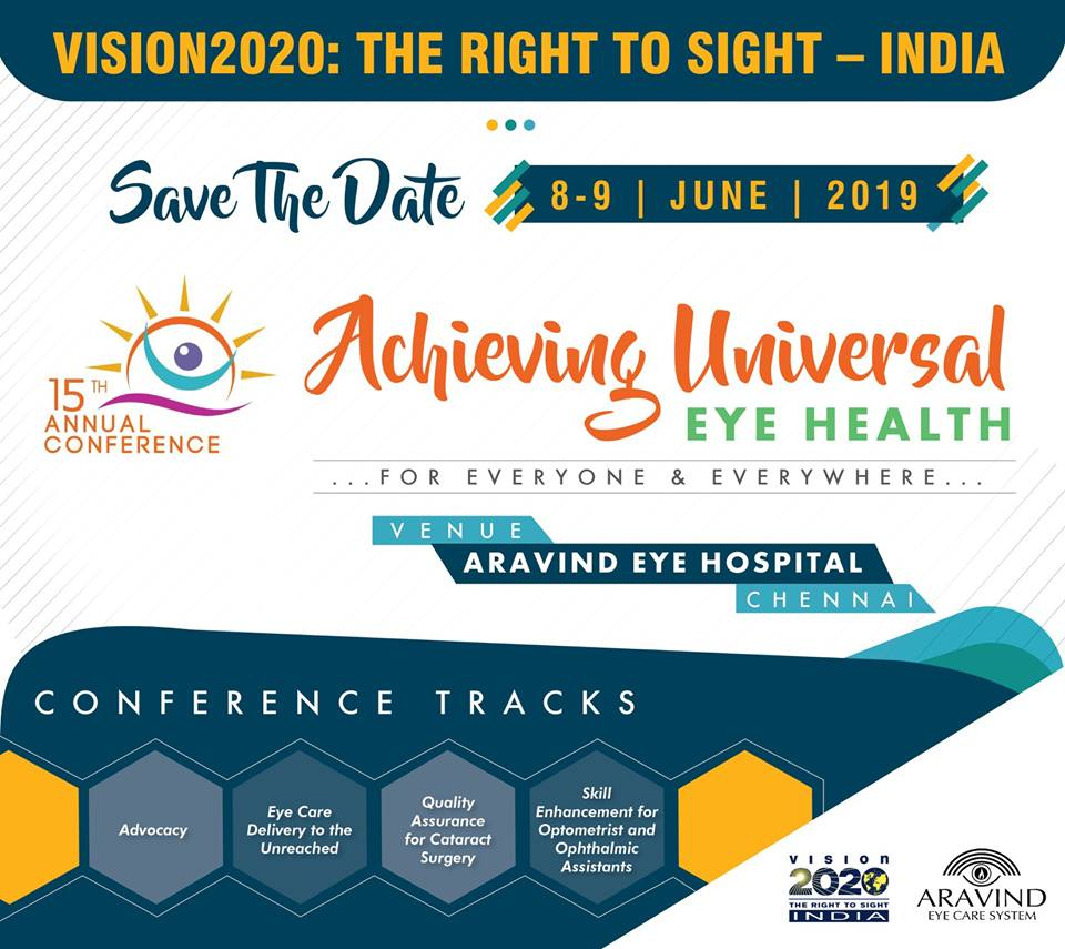 National Conference – VISION 2020: The Right to Sight- INDIA