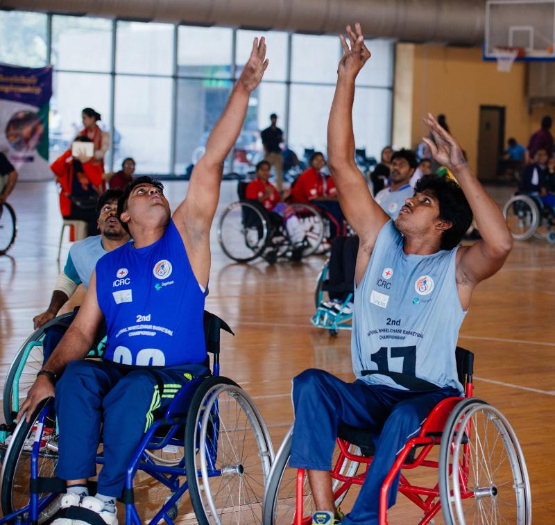 Wheelchair Basketball Introductory camp at Meghalaya, Shillong