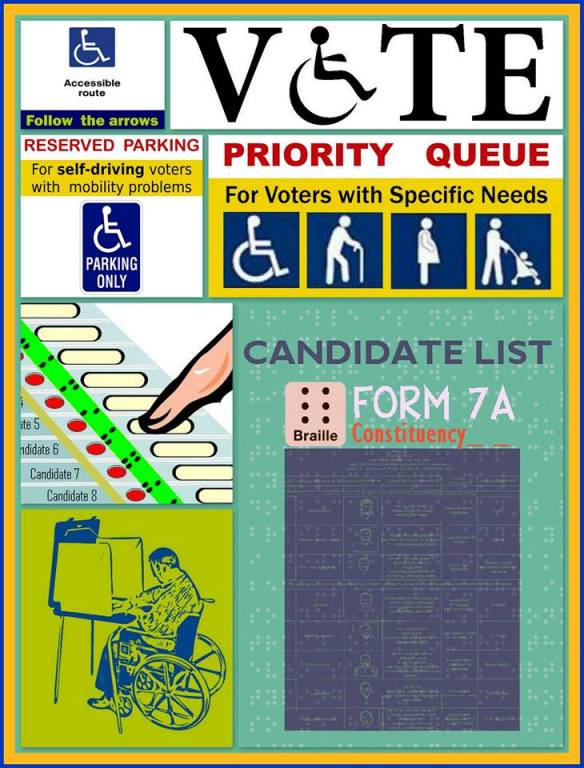 Form7 for visually impaired - Form 7A Election 2019