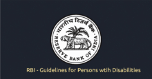 Banking Facility for Persons with Disabilities and Senior Citizens – RBI Circulars - RBI Logo