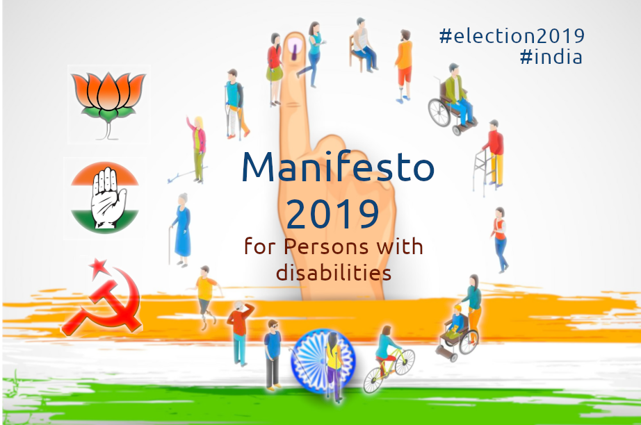 election Manifesto 2019 for persons with disabilities